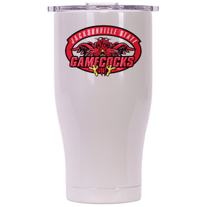 Jacksonville State 27oz Chaser Pearl/Clear - ORCA