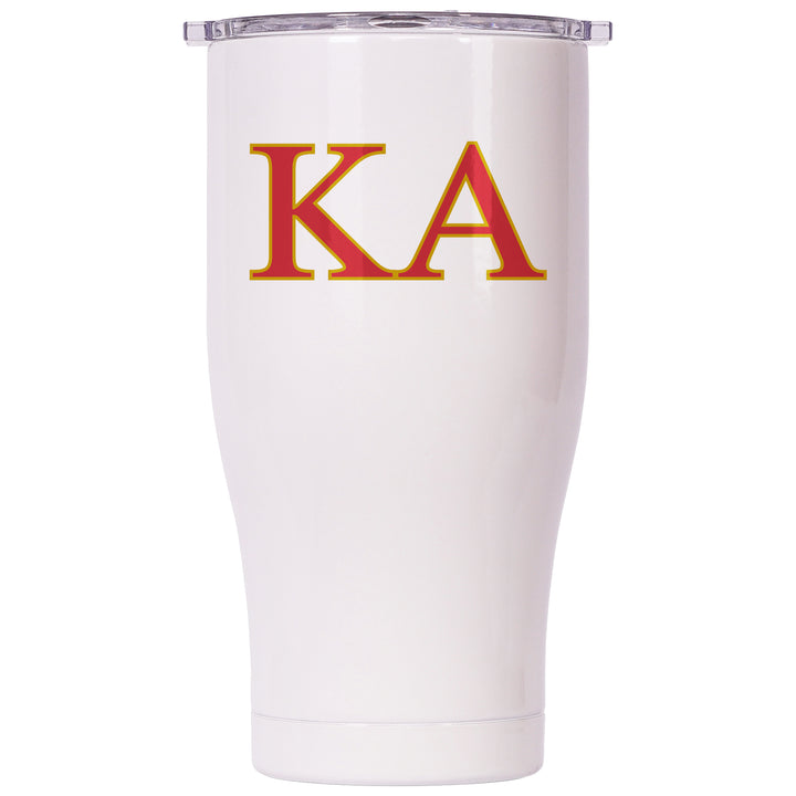 Kappa Alpha Order Pearl/Clear Chaser 27oz - ORCA