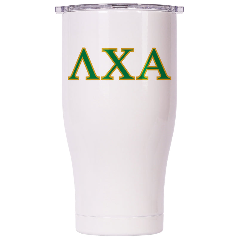 Lambda Chi Alpha Pearl/Clear Chaser 27oz - ORCA