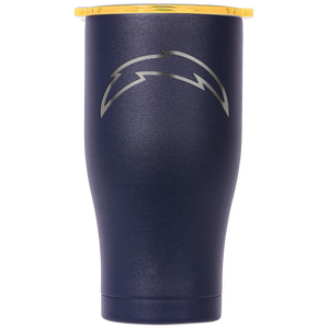Los Angeles Chargers Chaser 27 oz.Laser Etched Navy/Gold - ORCA