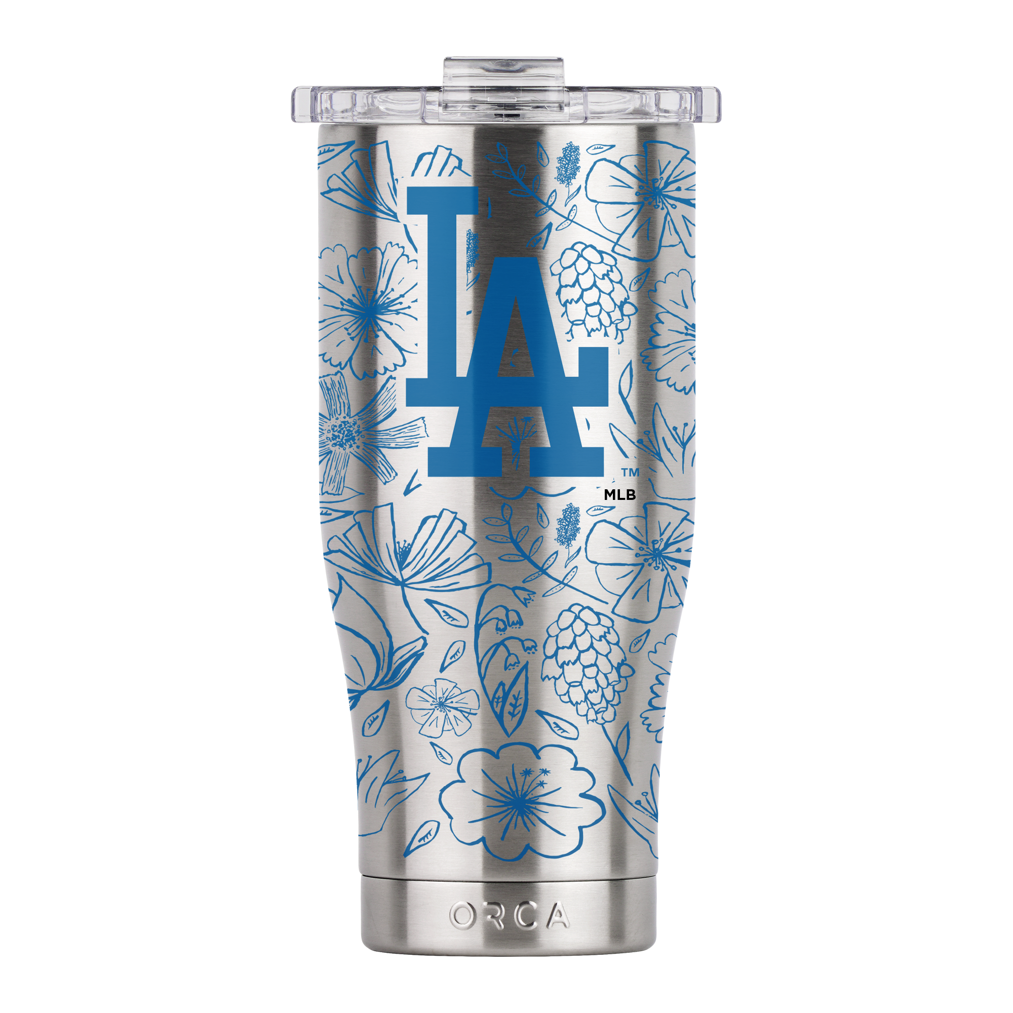 Los Angeles Dodgers Floral Sketch Chaser 16oz - ORCA