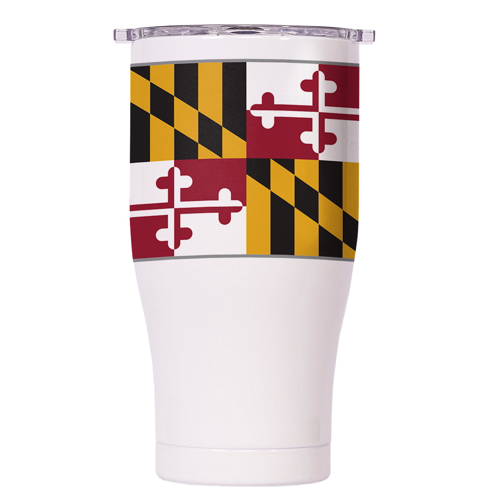 Maryland State Flag Chaser 27oz - ORCA