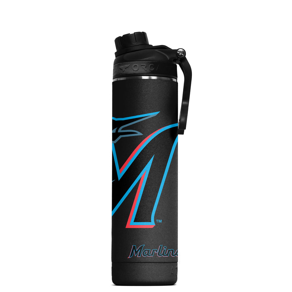 Miami Marlins Large Logo Hydra 22 oz. - ORCA