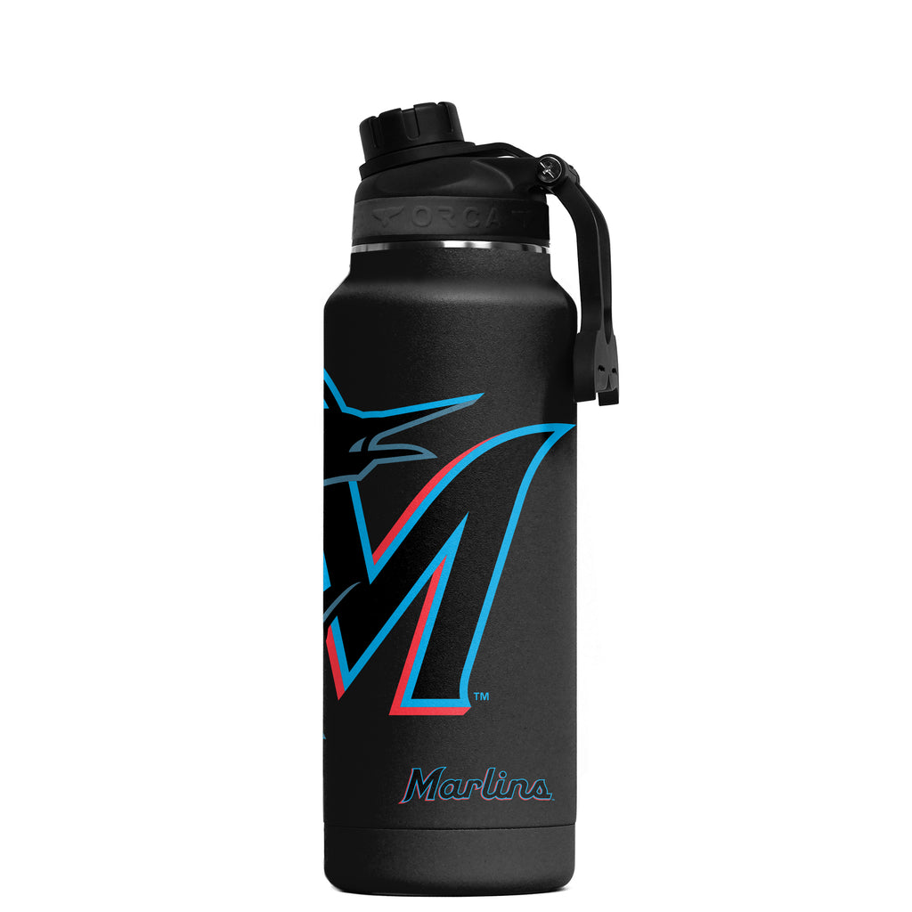 Miami Marlins Large Logo Hydra 34 oz. - ORCA