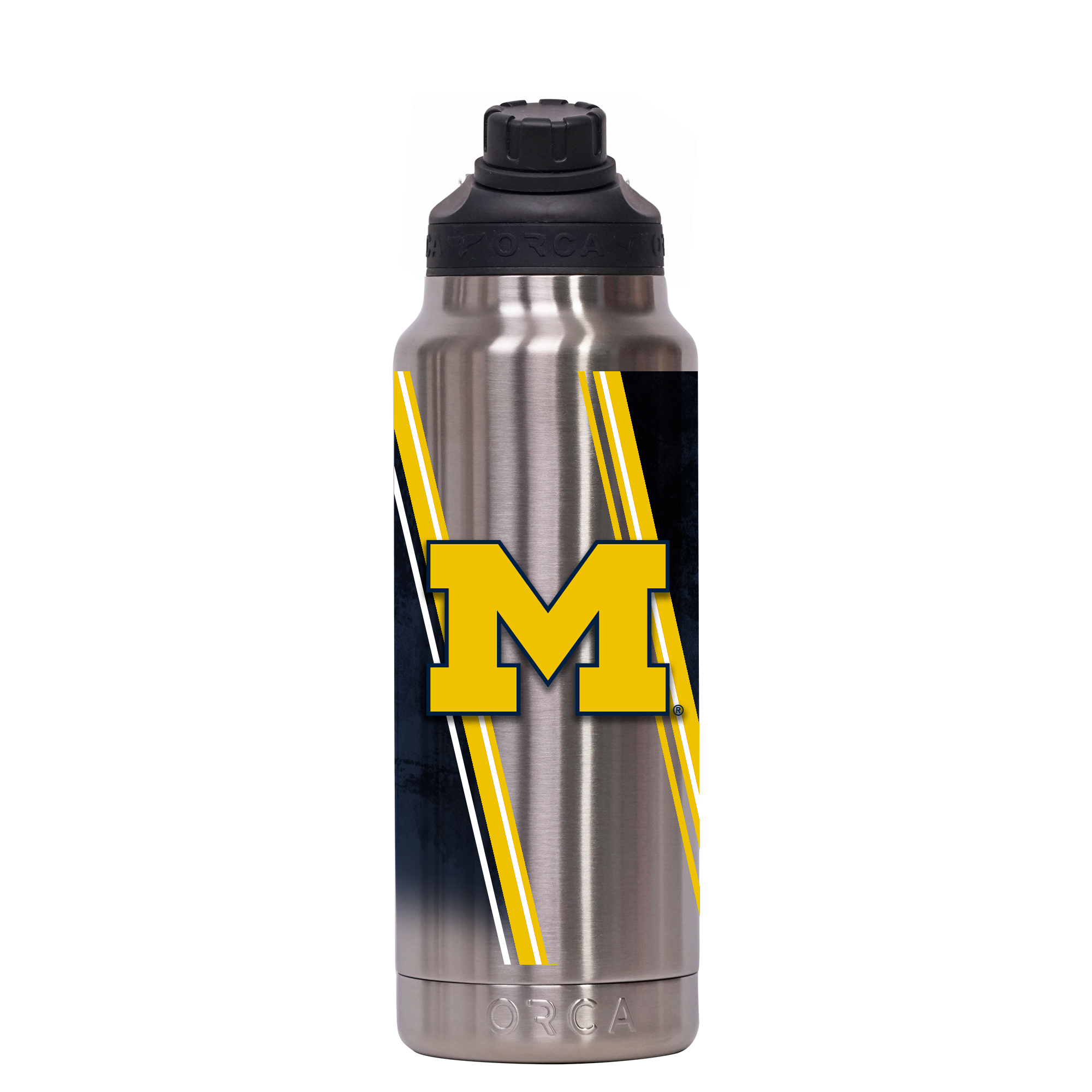 Michigan Double Stripe Wrap Hydra 34 oz. - ORCA