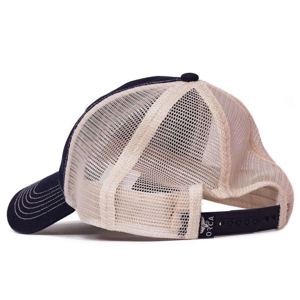 Navy Low Profile Trucker Hat - ORCA