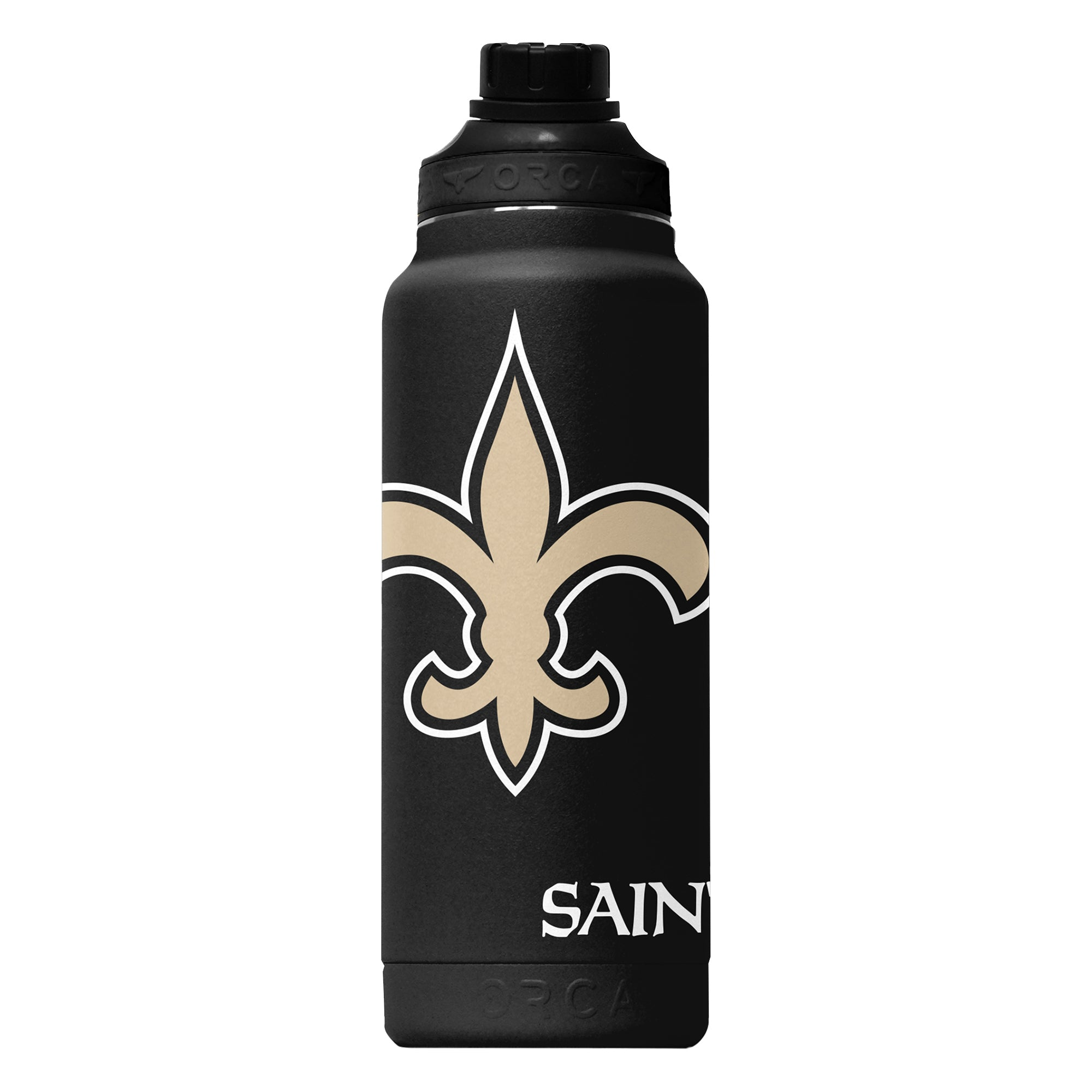New Orleans Saints Large Logo Hydra 34oz - ORCA