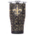 New Orleans Saints Floral Sketch Chaser 27oz - ORCA