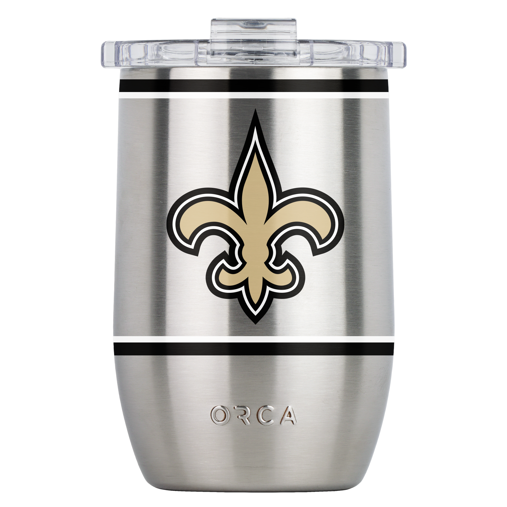 New Orleans Saints Large Logo Vino 12oz - ORCA