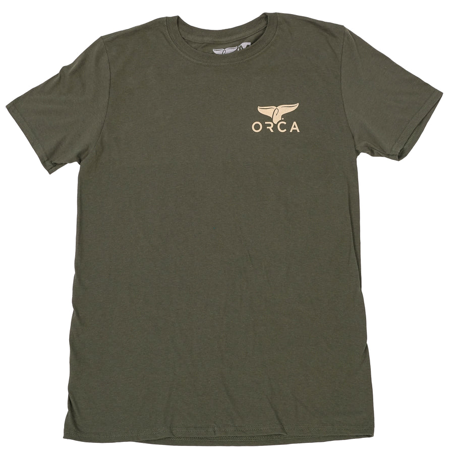 Military Green Short Sleeve - ORCA
