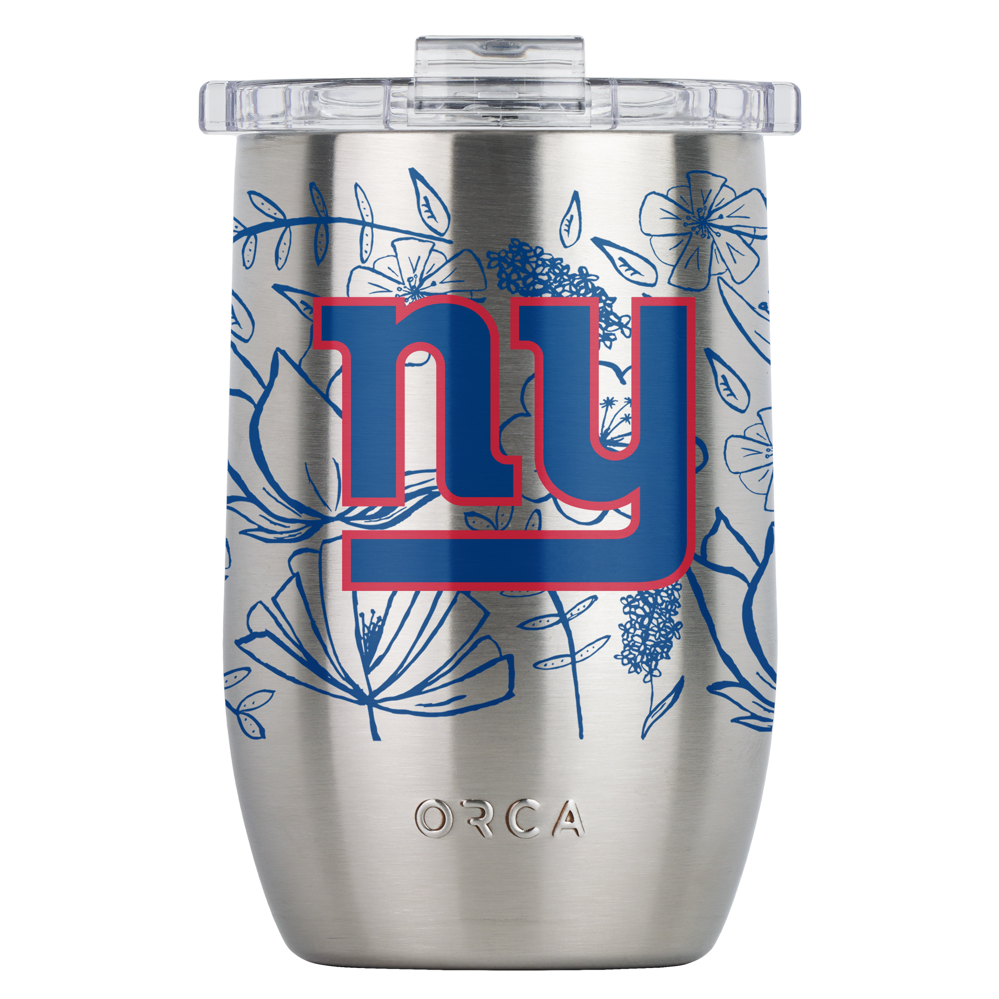 New York Giants Floral Sketch Vino 12oz - ORCA