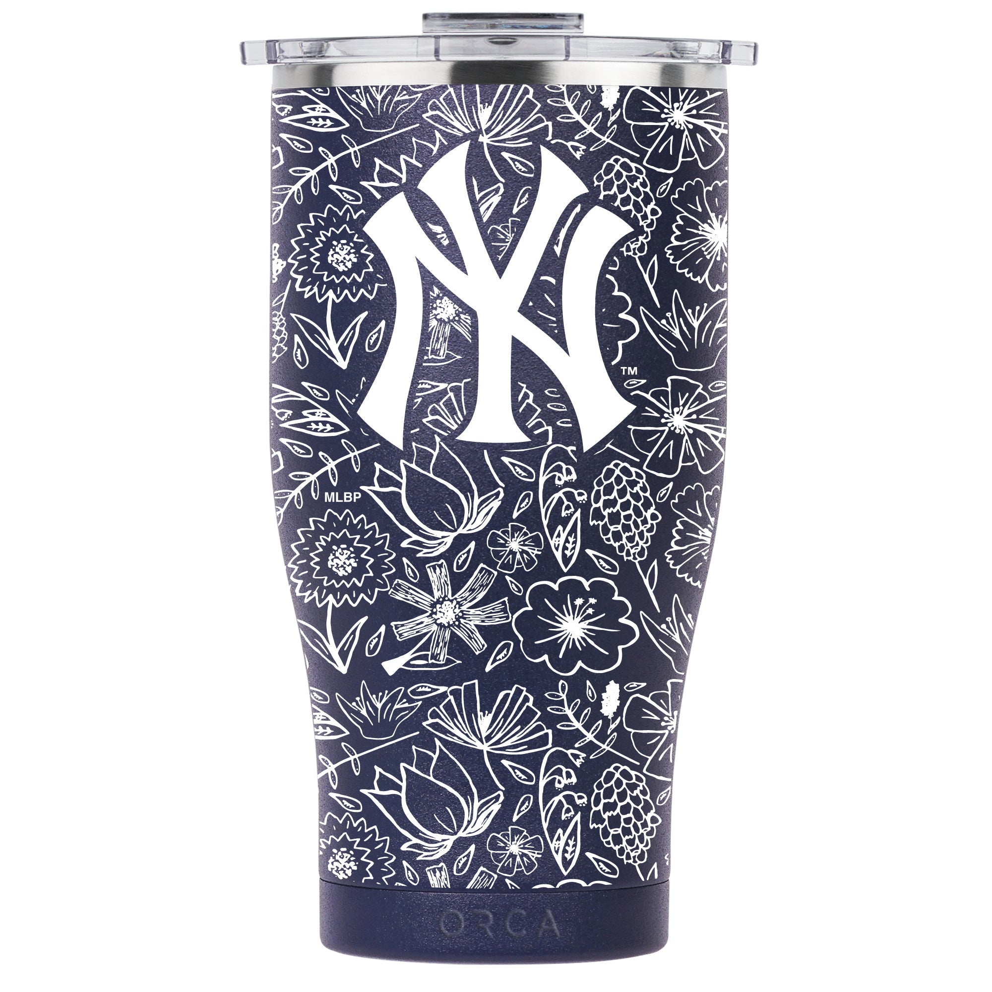 New York Yankees Floral Sketch Chaser 27oz - ORCA