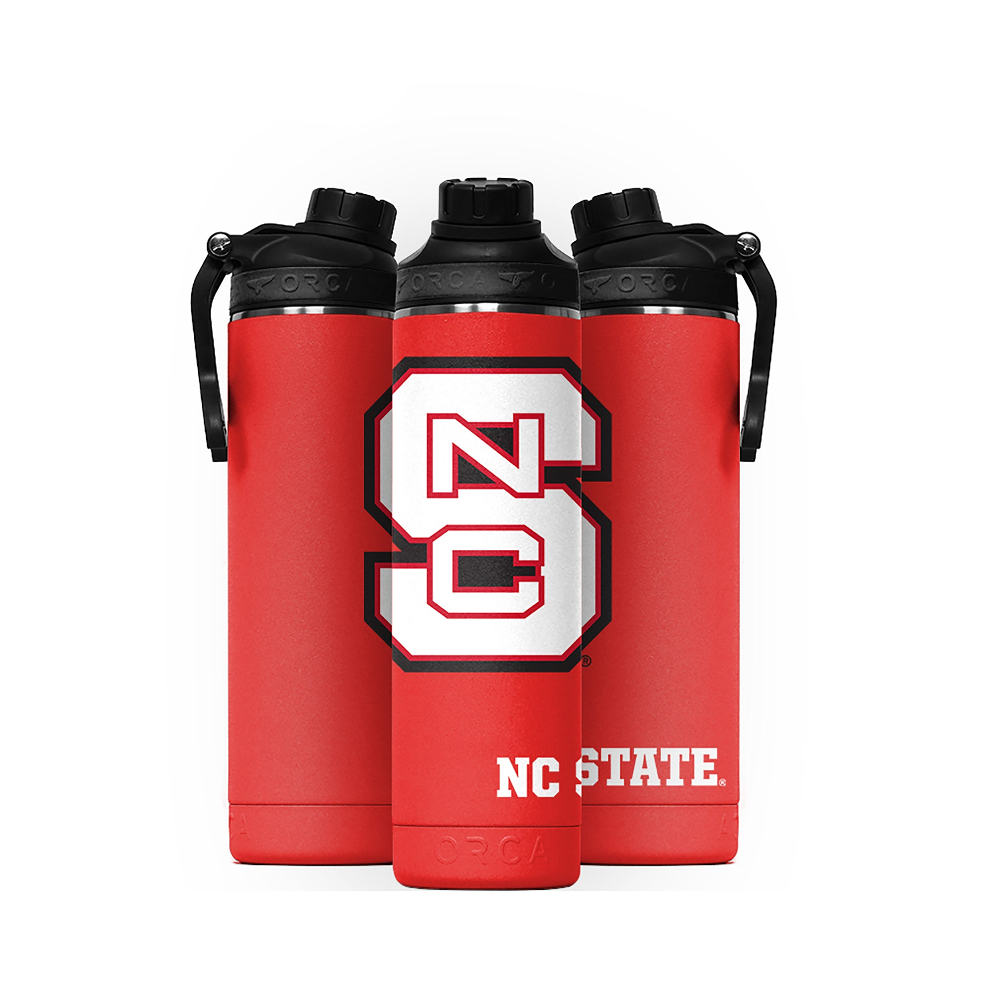 North Carolina State Large Logo Hydra 22oz - ORCA