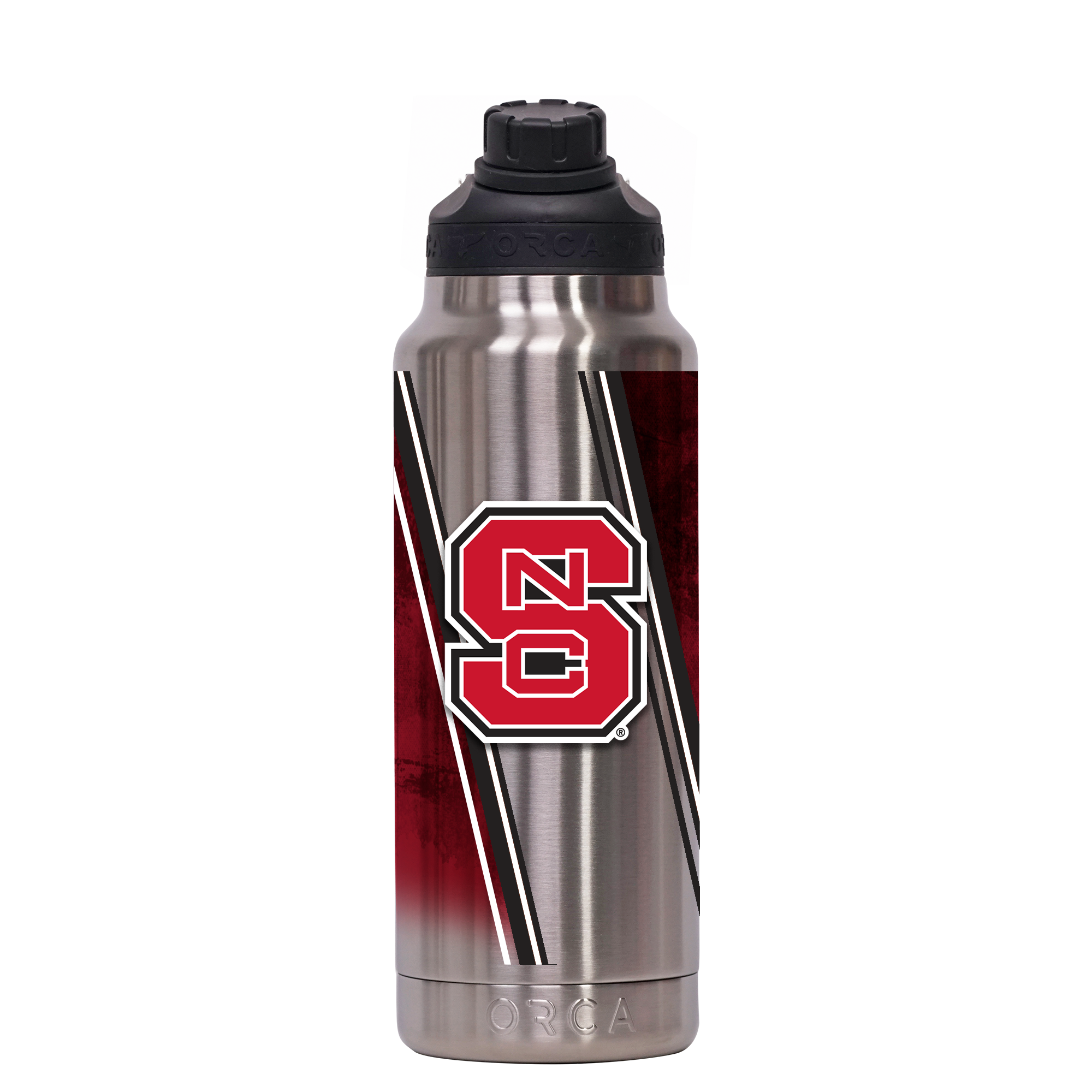 NC State Double Stripe Wrap Hydra 34 oz. - ORCA