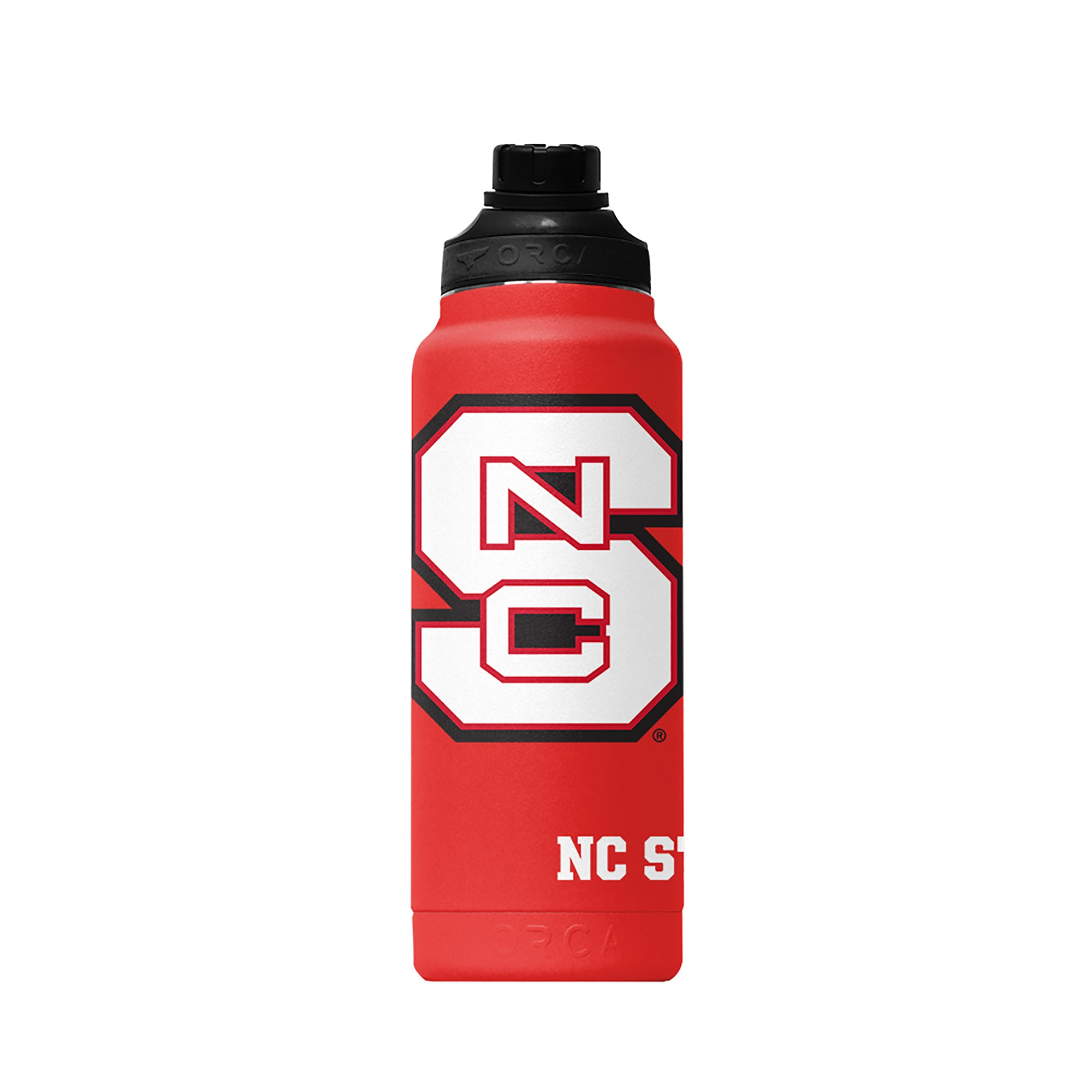 North Carolina State Large Logo Hydra 34oz - ORCA