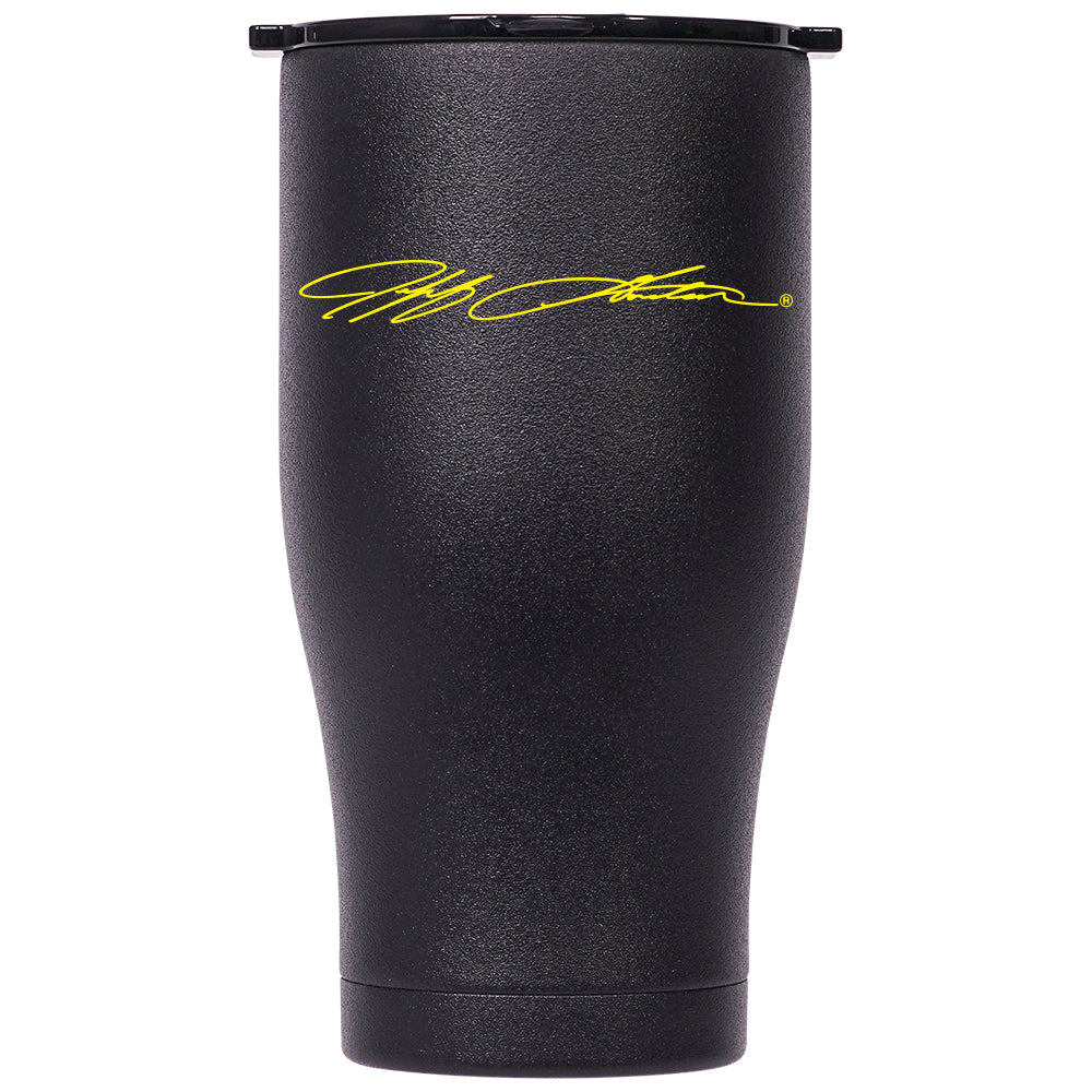 Jeff Gordon Yellow Signature Chaser 27oz Bk/Bk - ORCA