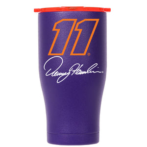 Denny Hamlin Orange #11 Signature Chaser 27oz PU/OR - ORCA