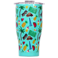Beach Essentials 27oz Chaser Seafoam/Clear - ORCA