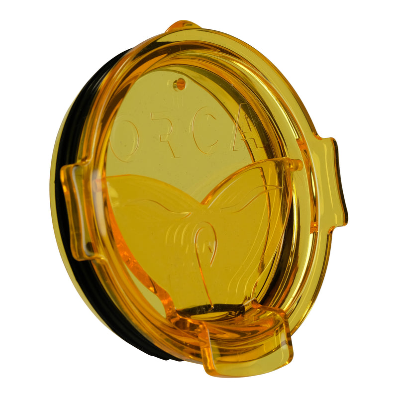 Dark Gold Whale Tail Flip Top Chaser Lid - ORCA
