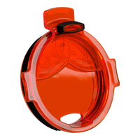 Orange Whale Tail Flip Top Chaser Lid - ORCA