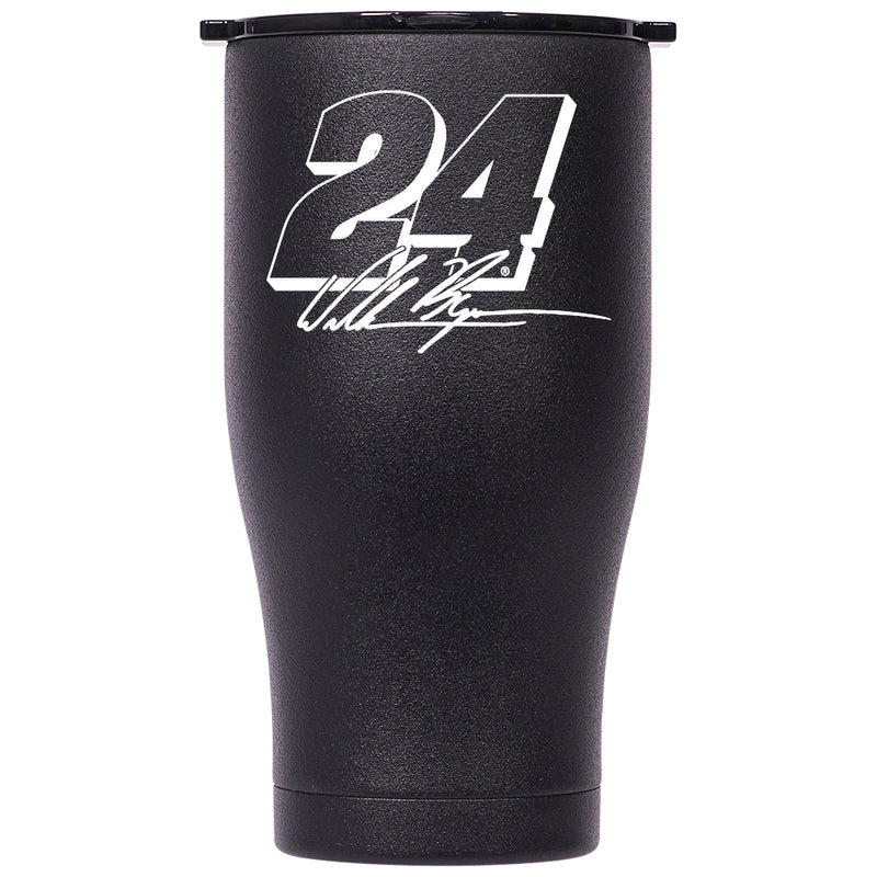 William Byron White #24 Signature Chaser 27oz BK/BK - ORCA