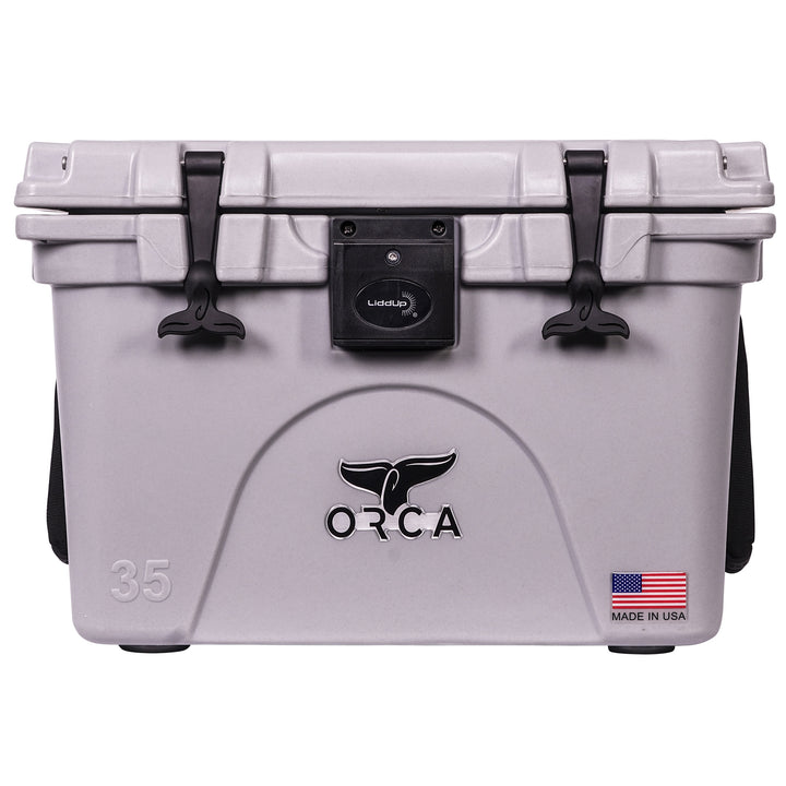 Grey Liddup 35 Quart - ORCA