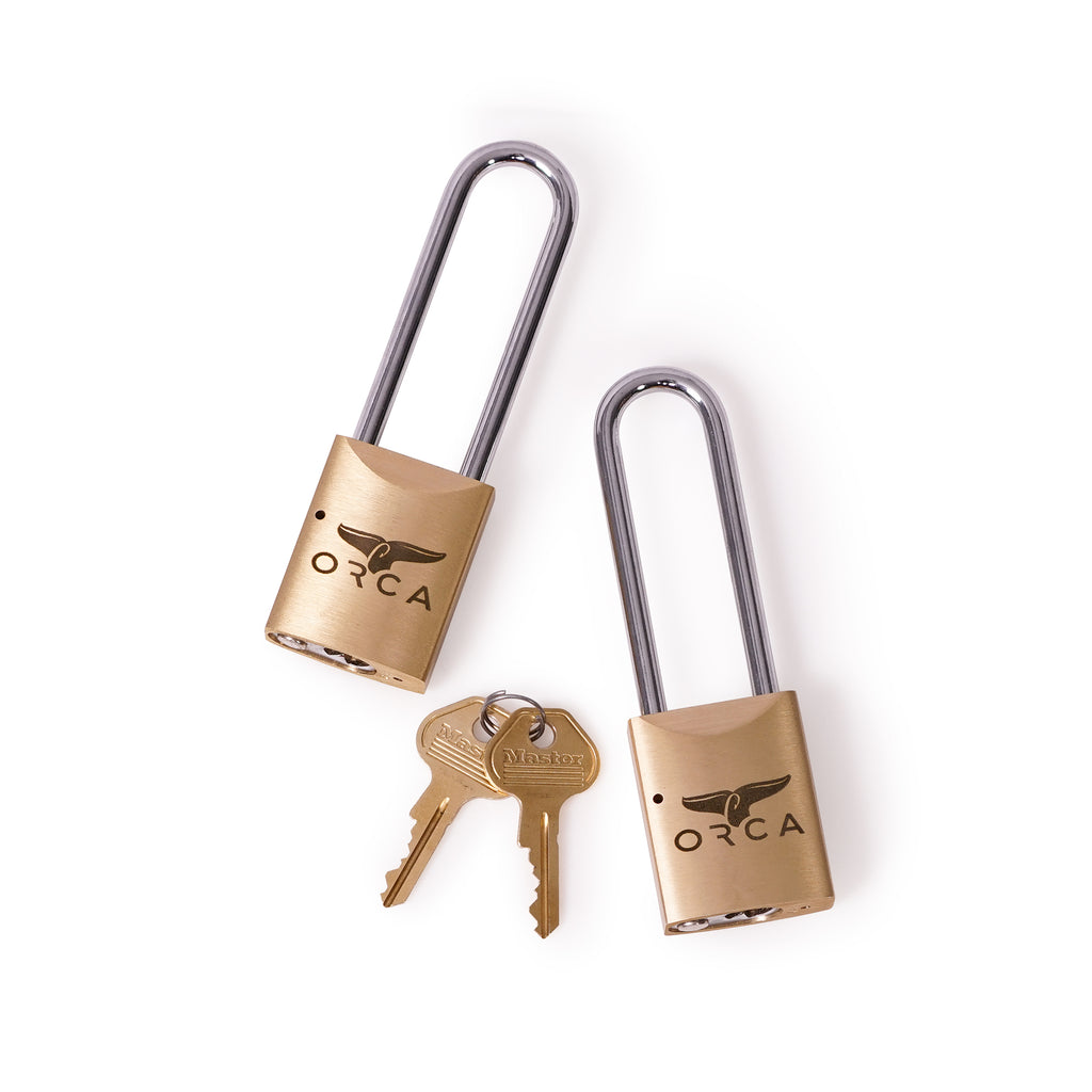 Pro Series Locks Set Of 2- Brass - ORCA