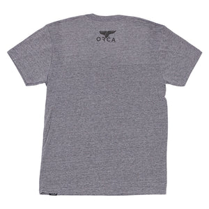 ALL THE THINGS GREY T-SHIRT - ORCA