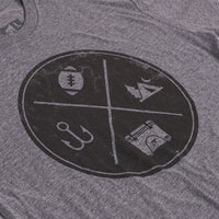 All The ORCA Things Short Sleeve Grey - ORCA