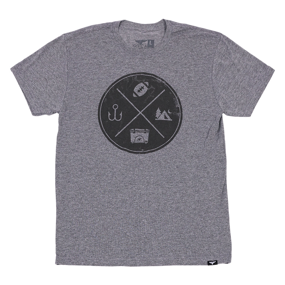 All The ORCA Things Short Sleeve Grey