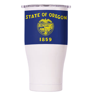 Oregon State Flag Chaser 27oz - ORCA