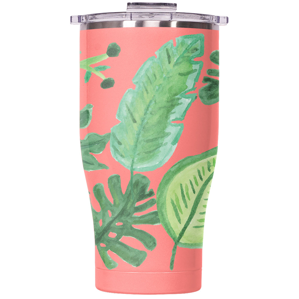 Palms Chaser 27oz Coral/Clear