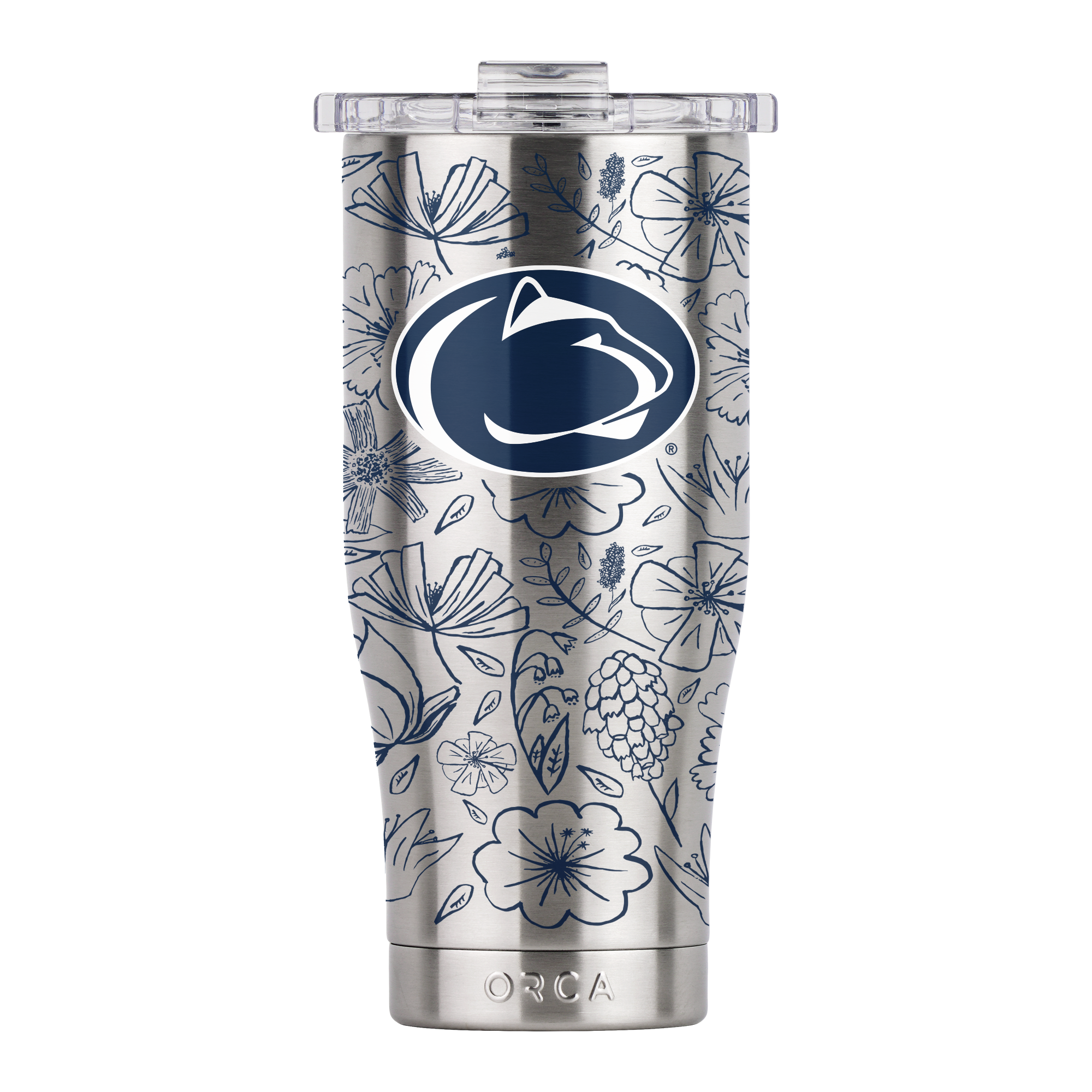 Penn State Floral Sketch Chaser 16oz - ORCA