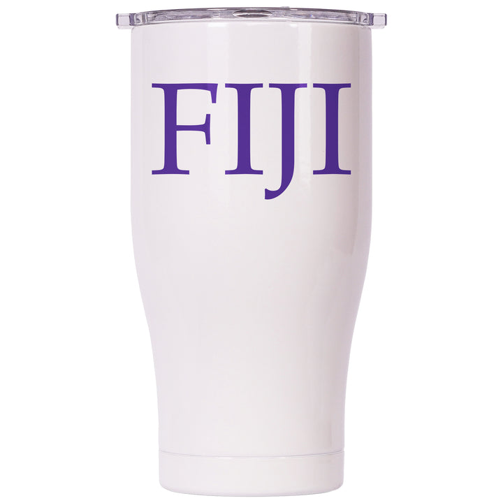 Phi Gamma Delta Pearl/Clear Chaser 27oz - ORCA