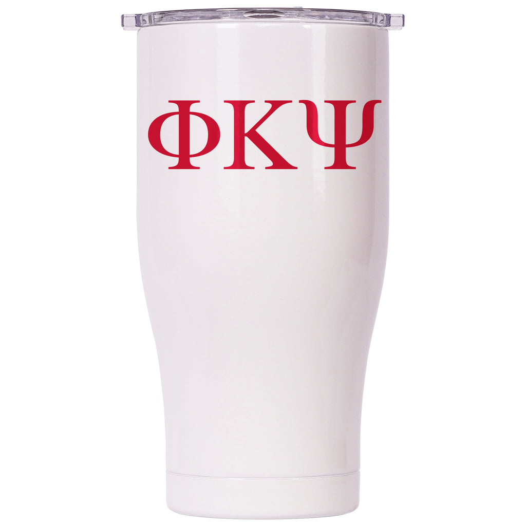 Phi Kappa Psi Pearl/Clear Chaser 27oz - ORCA