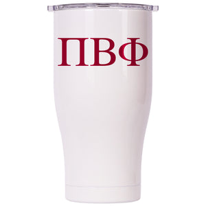 Pi Beta Phi Pearl/Clear Chaser 27oz - ORCA