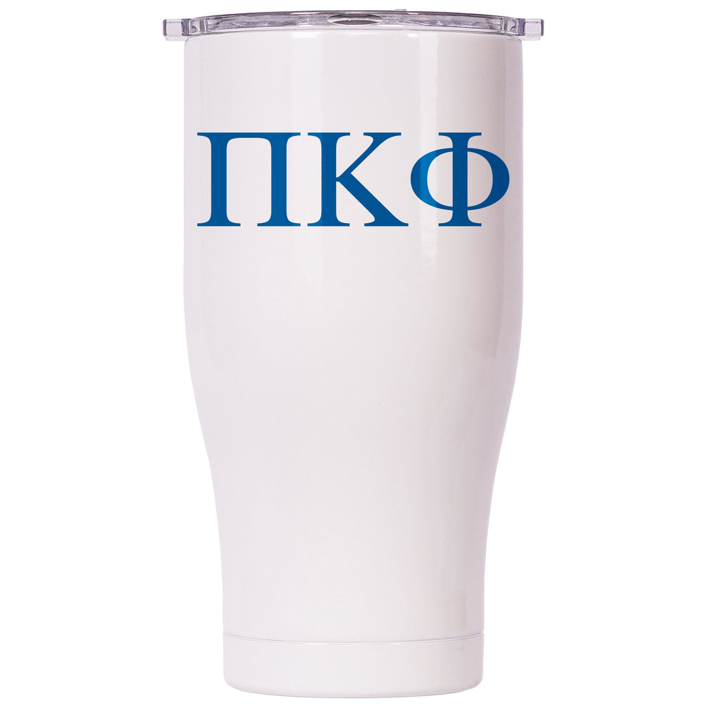 Pi Kappa Phi Pearl/Clear Chaser 27oz - ORCA