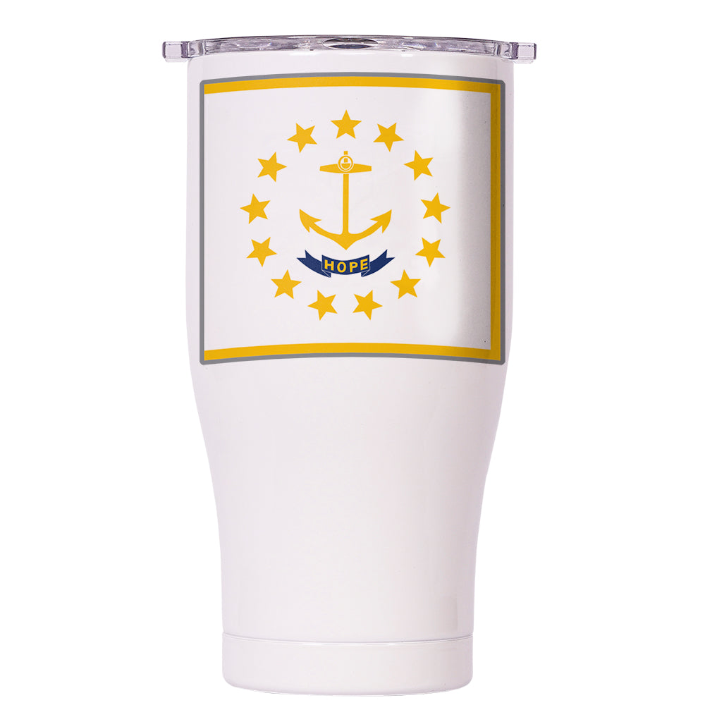 Rhode Island State Flag Chaser 27oz - ORCA