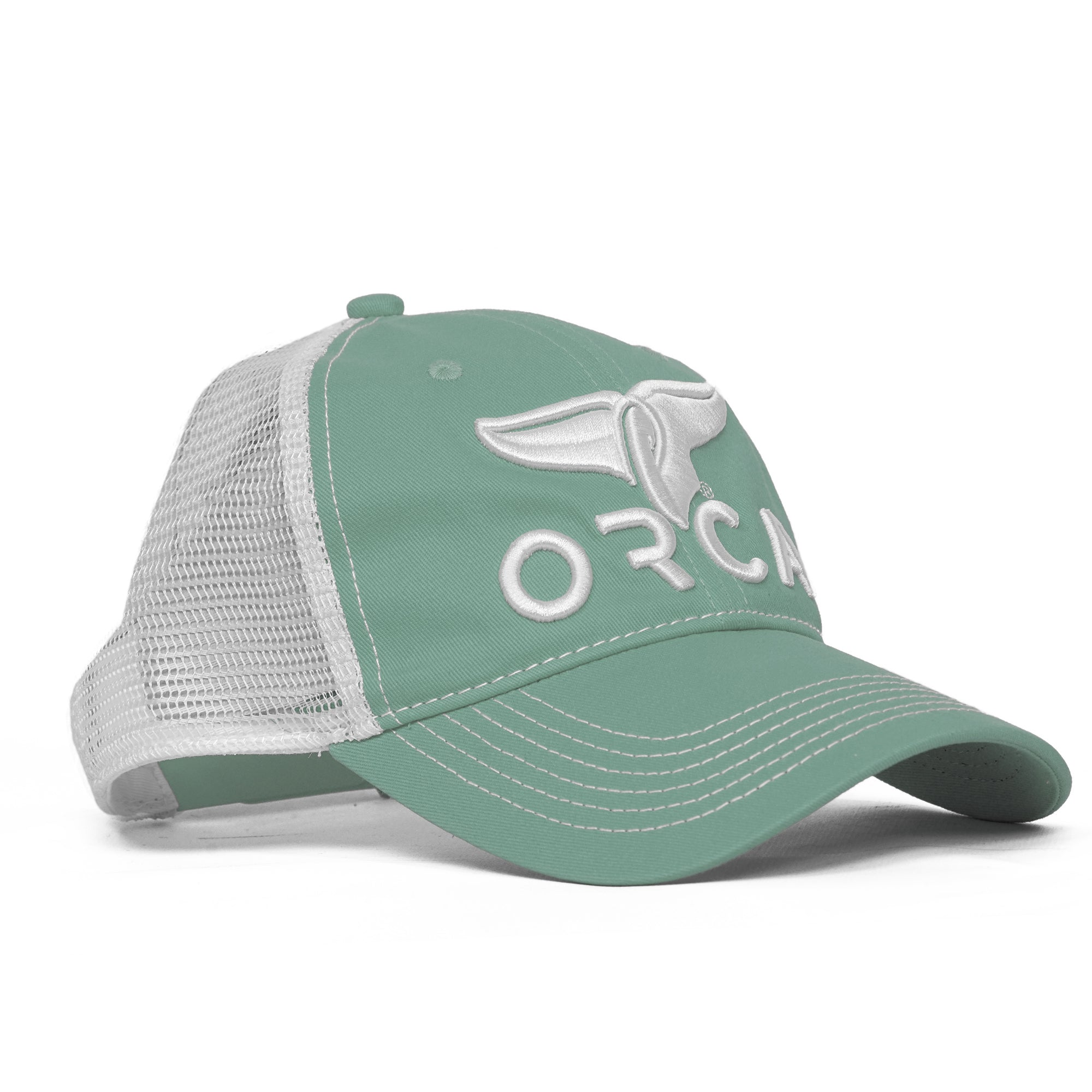 Low Profile Trucker Sage Hat