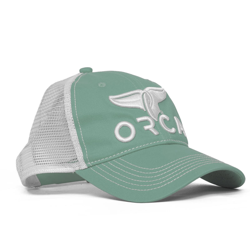 Low Profile Trucker Sage Hat - ORCA