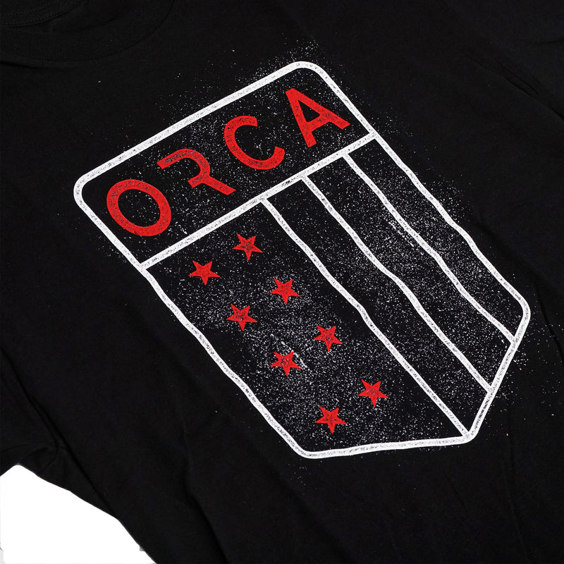Shield Short Sleeve Shirt Black - ORCA