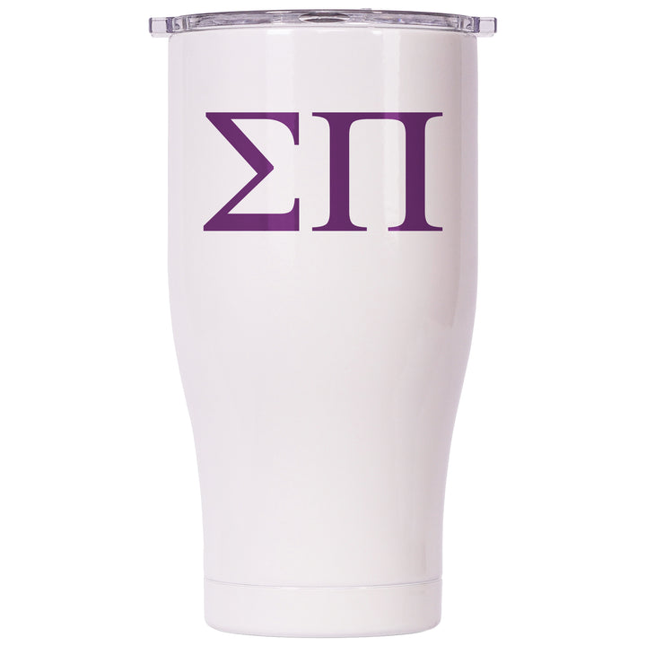 Sigma Pi Pearl/Clear Chaser 27oz - ORCA