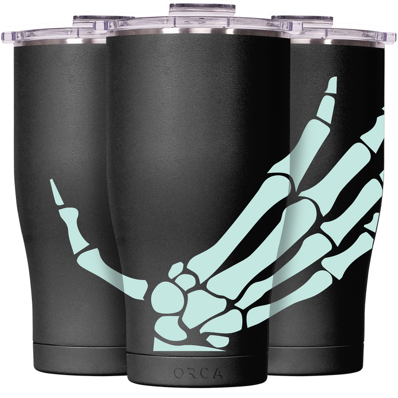 Skeleton Hand Black Chaser 27 oz. - ORCA
