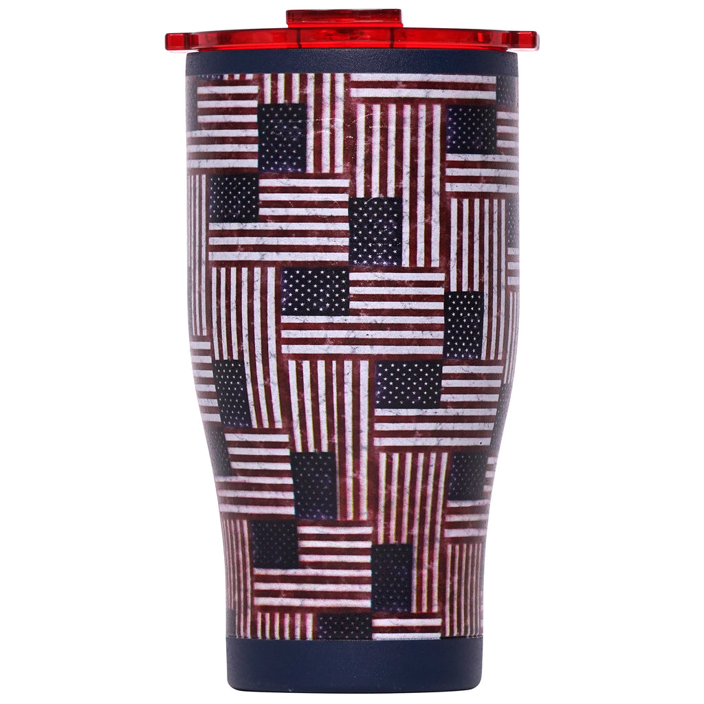 Stars and Stripes Navy/Red 27oz Chaser - ORCA