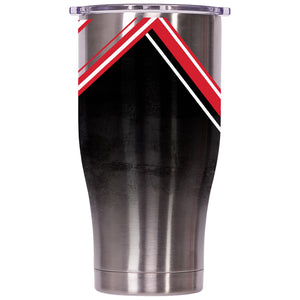 Cincinnati Double Stripe Wrap 27oz Chaser - ORCA