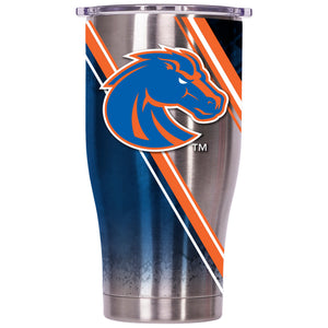 Boise State Double Stripe Wrap 27oz Chaser - ORCA