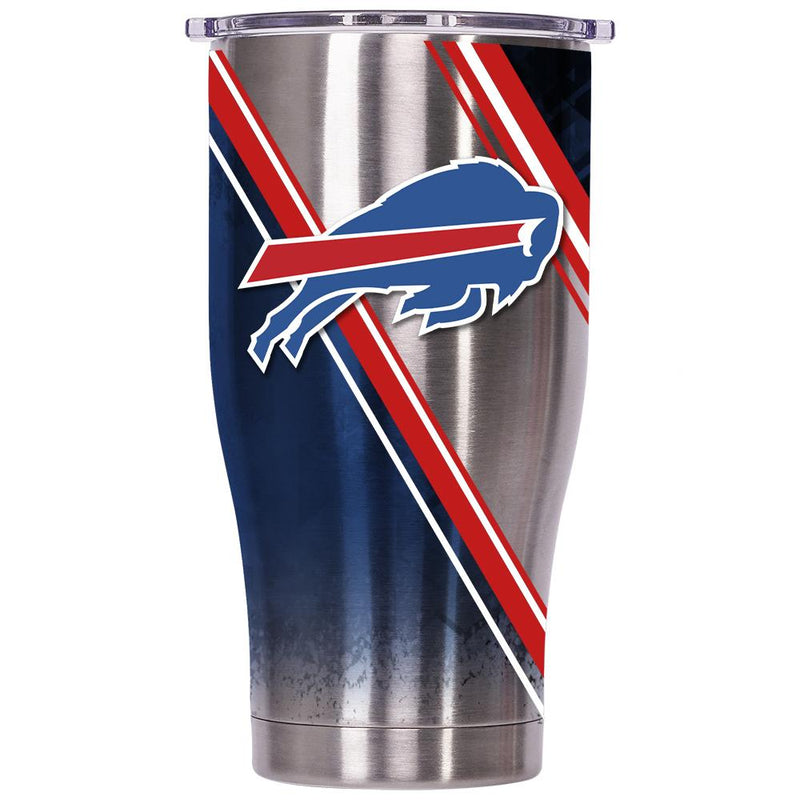 Buffalo Bills Double Stripe Wrap Chaser 27oz - ORCA