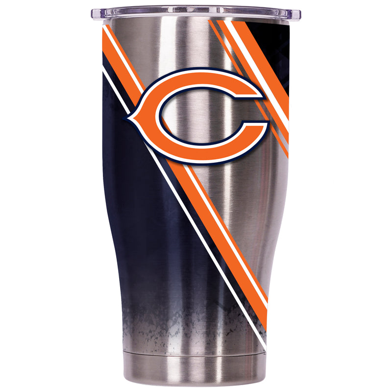 Chicago Bears Double Stripe Wrap Chaser 27oz - ORCA