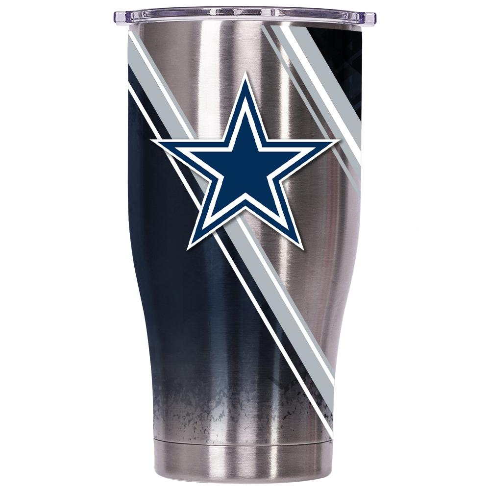 Dallas Cowboys Double Stripe Wrap Chaser 27oz - ORCA