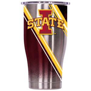 Iowa State Double Stripe Wrap 27oz Chaser - ORCA